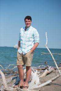 Senior Picture at Pelee Island