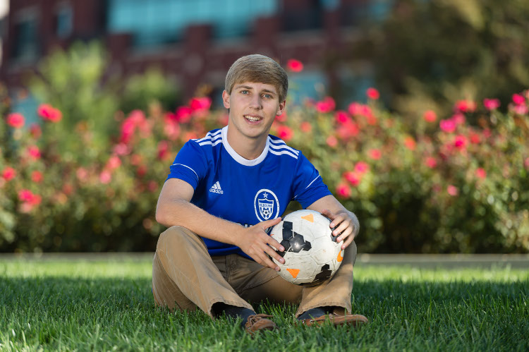 Soccer Player Senior Picture