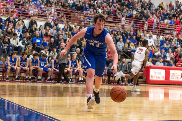 WKHS Men's Basketball Player