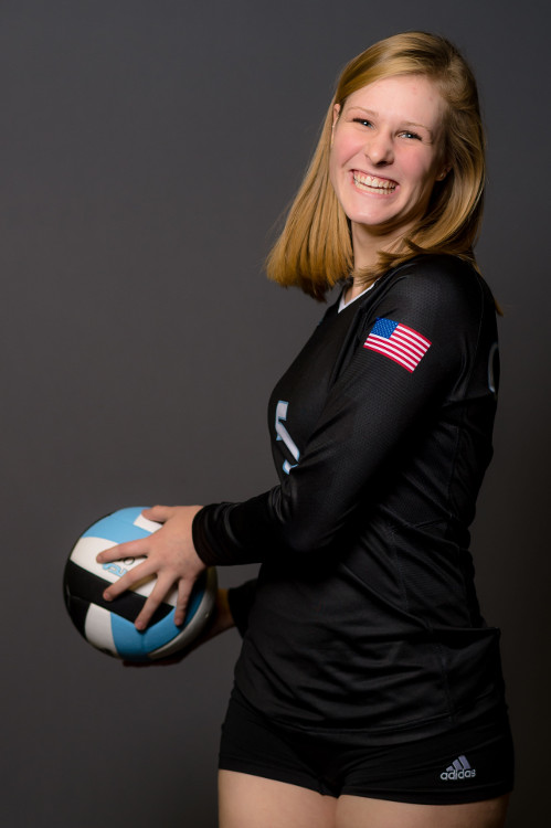 Club volleyball individual photo
