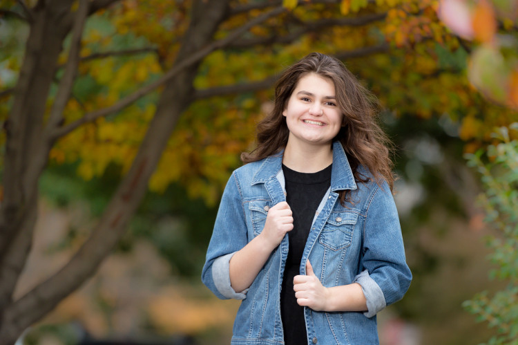 Fall Senior Pictures – Short North